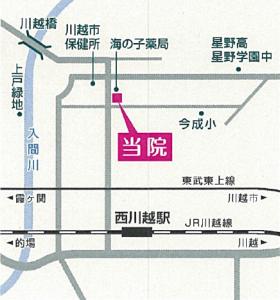 野澤クリニック・地図